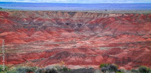 Painted Desert Landscape, Petrified Forest National Park, Arizona