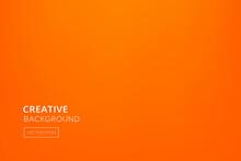 Minimal Orange Gradient Abstract Background