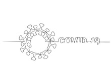Covid-19 Continuous One Line S...