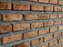 A Wall Made Of Bricks Vintage