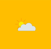 Weather Icon. Illustration For...