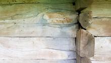 Wall, Facade, Corner Of A Wood...