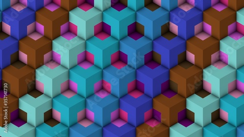 Isometric Patterns 12
