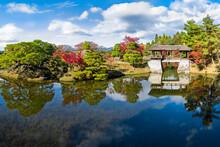 Shugakuin Rikyu Imperial Villa In Kyoto, Japan