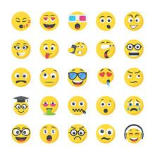 Smileys Flat Icons