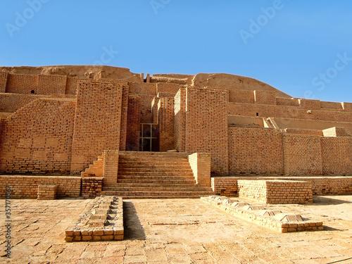 Slika na platnu Ziggurat Chogha Zanbil near Shush, Iran