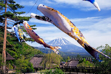 Colorful Koinobori Carp Kites ...