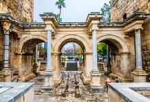 The Hadrian Gate In Antalya Ci...