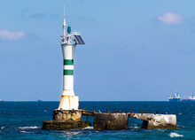 Lighthouse With Solar Energy, ...