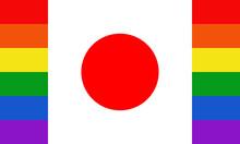 LGBT Month Rainbow Pride Japan...