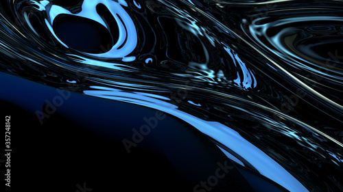 Photo Abstract digital background with high contrast light reflections