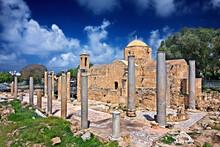 KATO PAPHOS, CYPRUS.  The Chur...