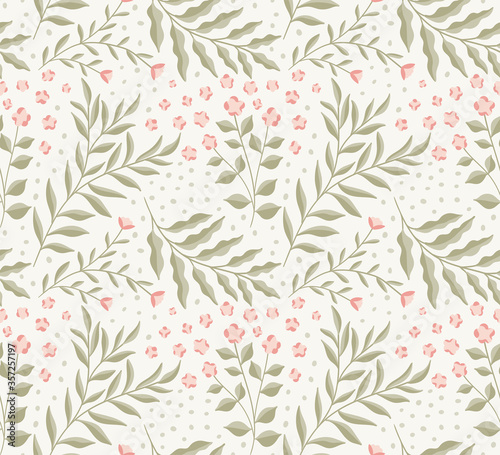 Photo Floral graphic vector illustration