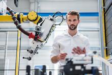 Young Robotics Engineer Lookin...