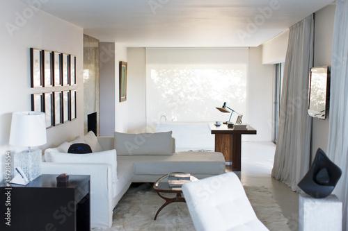 Photo Modern studio apartment