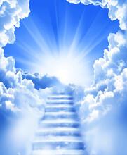 Stairs Sky Cloud Stairs In Sky...