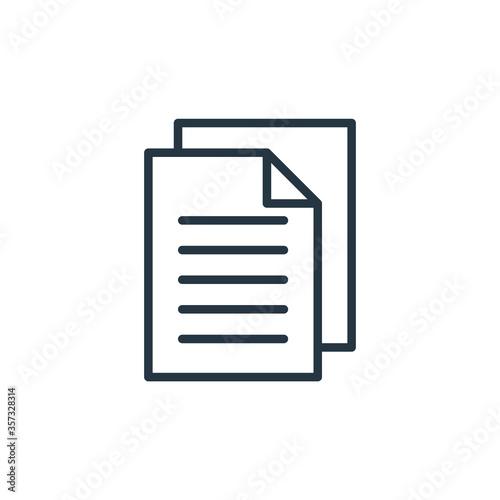 Obraz na plátně copy vector icon