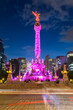 The Angel of Independence in Mexico City, Mexico