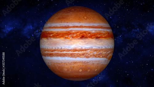 Obraz jupiter planet - fototapety do salonu
