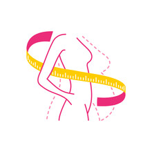 Weight Loss Program Logo (isol...