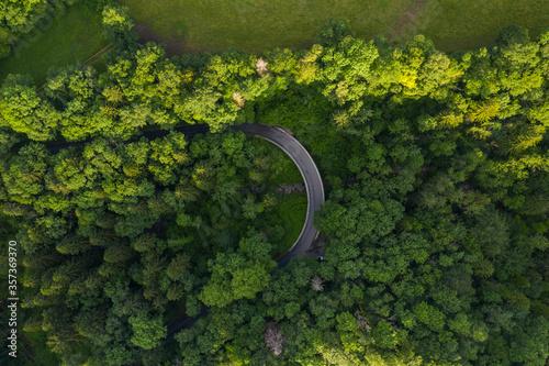 Valokuva Aerial View Pays de Gex - Geneva aera