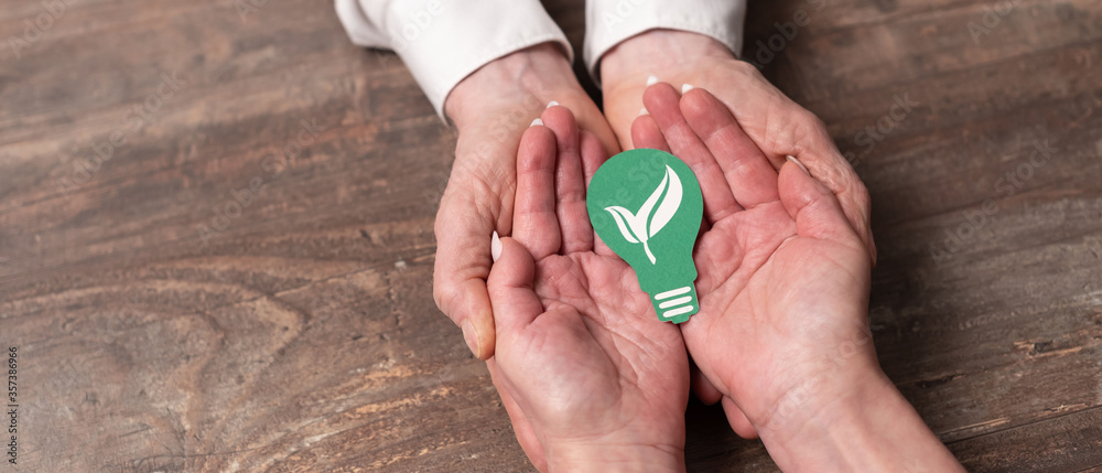 Fototapeta Concept of clean energy