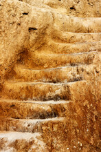Close Up Of Saircase, Carved I...