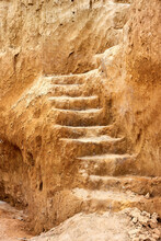 Staircase, Carved In Clay Crag...