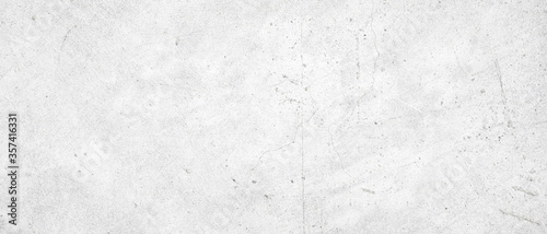 Fotografiet white concrete wall texture background