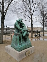 The Kiss (French: Le Baiser) Is An 1882 Marble Sculpture By The French Sculptor Auguste Rodin.