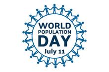 World Population Day. July 11....