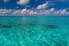 Sea Surface Summer Wave Backgr...