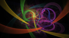 Abstract Colorful Rainbow Glow...