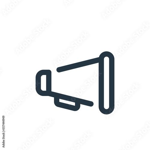 Leinwand Poster announcer vector icon