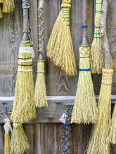 Handmade Old Fashioned Brooms ...