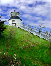 Owls Head Lighthouse In Maine