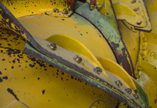 Detail Of An Old Snow Plough