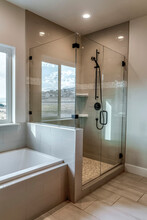 Rectangular Walk In Shower Sta...