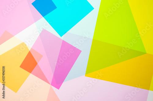 Obraz na plátně 多色の四角形の構成
