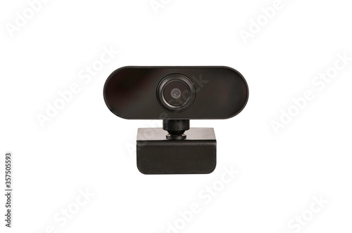 Photo Web Camera isolated on white background.
