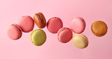 Various Colorful Macaroons