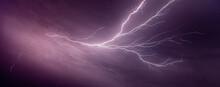 Lightning Streaking In The Nig...