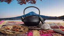 Japanese Teapot Overlooking Mo...