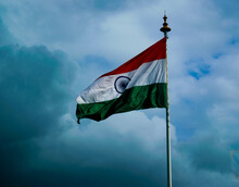 Indian Flag Waving