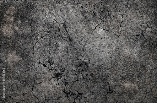 Fototapeta Cracked concrete texture background obraz