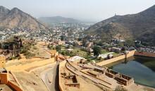 View Of Amer City, Jaipur, Raj...