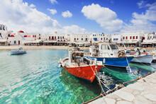 Mykonos Island, Cyclades, Gree...