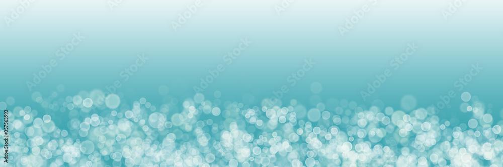 Fototapeta 穏やかな海のような幻想的なグラデーション