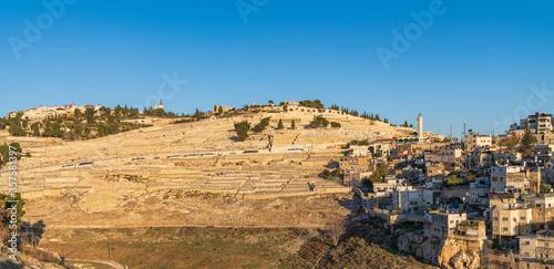 Fotografía Mount of Olives, sunset. Jerusalem, Israel.