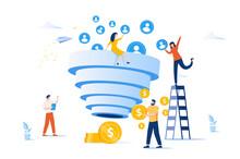 Sales Funnel And Lead Generati...